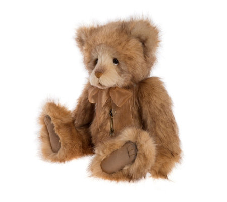 "Charlie Bears Collectable Higgs 17.5"" Plumo Bear"