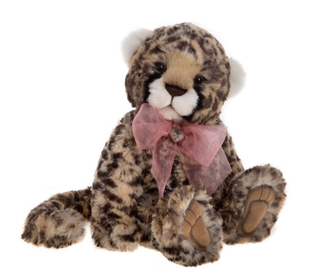 "Charlie Bears Collectable Kiri 13"" Plush Bear"