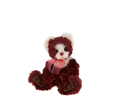 "Charlie Bears Collectable Bear Berry 12"" Plush Bear"