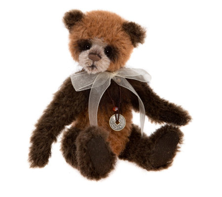 "Charlie Bears Isabelle Lee Limited Edition Guardian 6.5"" Mohair Bear"