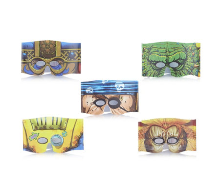 Mardles Set of 5 Interactive Magic Masks