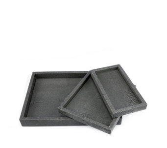 JM by Julien Macdonald Set of 3 Safari Desk Trays - 706880