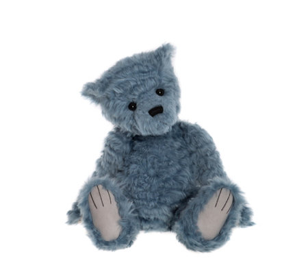 "Charlie Bears Collectable Wyatt 16"" Plush Bear"