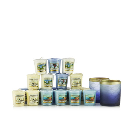 Yankee Candle Twilight Dusk Holders with 18 Votives