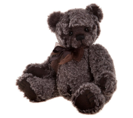 "Charlie Bears Collectable Nigel 9"" Plush Bear"