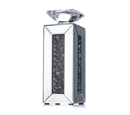 JM by Julien Macdonald Signature Mirrored Crystal Candle Holder