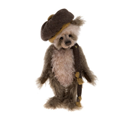 "Charlie Bears Isabelle Lee Limited Edition Parky 18"" Mohair Bear"