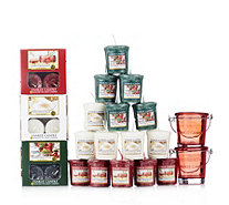 Yankee Candle 53 Piece Festive Cheer T-light & Votive Collection - 705594