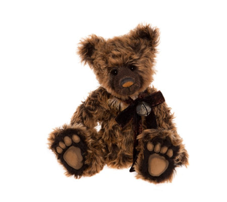 "Charlie Bears Isabelle Lee Limited Edition Dollop 18"" Mohair Bear"