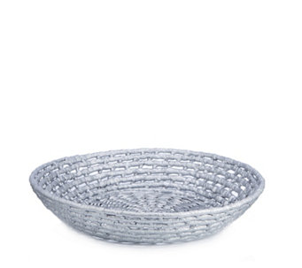 K by Kelly Hoppen Wicker Bowl - 706595