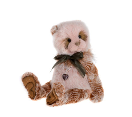 "Charlie Bears Collectable Sandie 15"" Plush Bear"