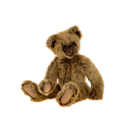 "Charlie Bears Collectable Pipsie 11"" Plush Bear"