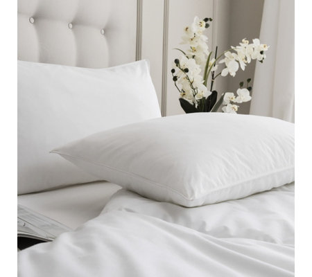 Silentnight Luxury Collection Pure Cotton Anti Allergen Set of 2 Pillows