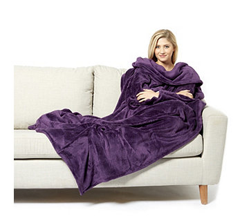 The Slanket Indulgent Wearable Blanket with Handy Pockets - 805205