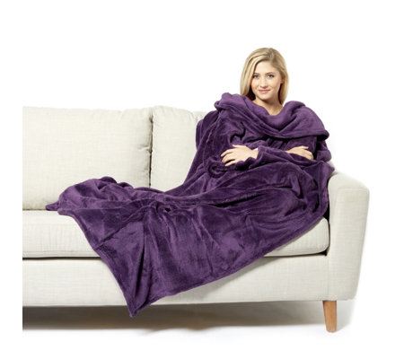 The Slanket Indulgent Wearable Blanket with Handy Pockets