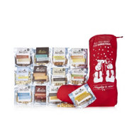 Joe and Seph's Popcorn 12 Piece Christmas Stocking