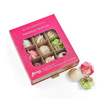 Merangz by Flower & White Set of 2 Assorted Truffle Meringue Gift Boxes - 806812