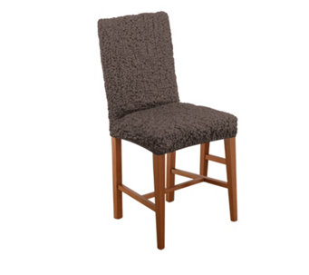 Paulato Textured Stretch Dining Chair Cover - 804413