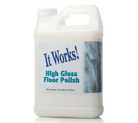 it works  1 9 litre high gloss floor polish   restorer qvc uk Ushers and Greeters Training