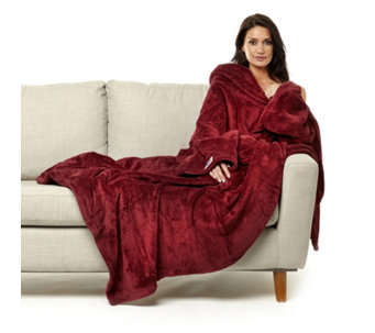 The Slanket Indulgent Wearable Blanket with Handy Pockets - 805218