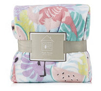 Cozee Home Cozee Home Tropical Party Plush Throw - 807218