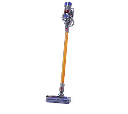 dyson v8 absolute quiet cordless vacuum with 4pc accessory kit page 1 qvc uk. Black Bedroom Furniture Sets. Home Design Ideas