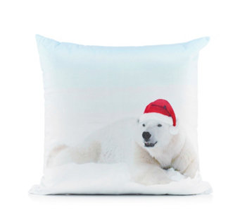 Animal Fun Christmas Decorative Cushion - 805321