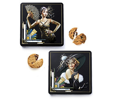 Churchill's Set of 2 Collectable Tins with Biscuits - 805222