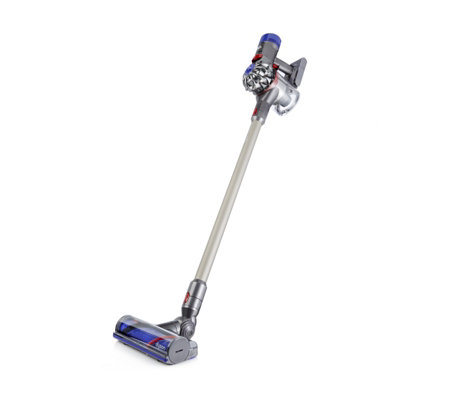 dyson v8 animal quiet cordless vacuum cleaner page 1 qvc uk. Black Bedroom Furniture Sets. Home Design Ideas