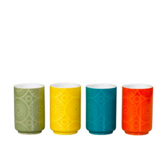 Mini Moderns Set of 4 Ceramic Tumblers - 806725