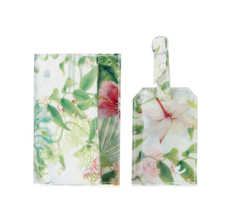 The Camouflage Company Passport Holder &Luggage Tag
