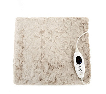 Cozee Home Luxury Heated Faux Fur Blanket - 806335
