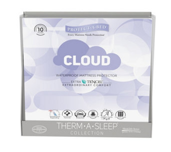 Protect-A-Bed Cushion Cloud 2 in 1 Fitted Sheet Mattress Protector - 805537