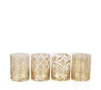 JM by Julien Macdonald Deco Collection 4 Piece Tumbler Set - 806540