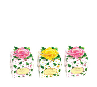 Churchill's Confectionery 3 Piece Rose Box Collection - 806142