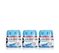 Ecozone Set of 3 Forever Flush Toilet Cleaner and Freshener - 805744