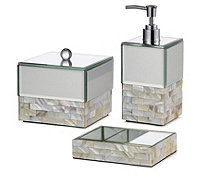 JM by Julien Macdonald Mother of Pearl & Crystal Bath Set - 807046
