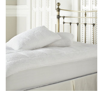 Cozee Home Ultra Fluffy Mattress Topper & Pillow Protector Set - 806248
