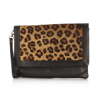 Amanda Lamb Large Leather Travel Clutch - 804449