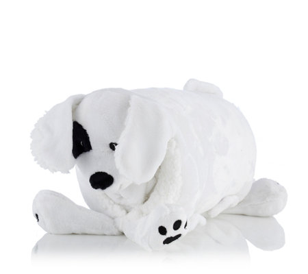 Animal Pillow With Blanket : Cozee Home Animal Pillow with Blanket - Page 1 - QVC UK