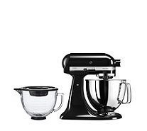 KitchenAid 125 Artisan 4.8L Stand Mixer with Additional Glass Bowl - 806053
