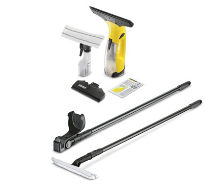 Karcher wv2 premium window vac with extension pole for Window karcher