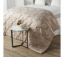 K by Kelly Hoppen Rosette Satin Bedspread - 804958
