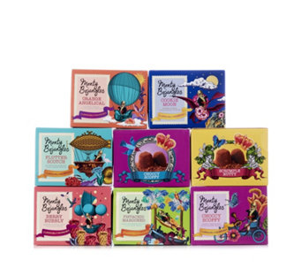 Monty Bojangles 8 Piece Assorted Truffle Selection - 805458