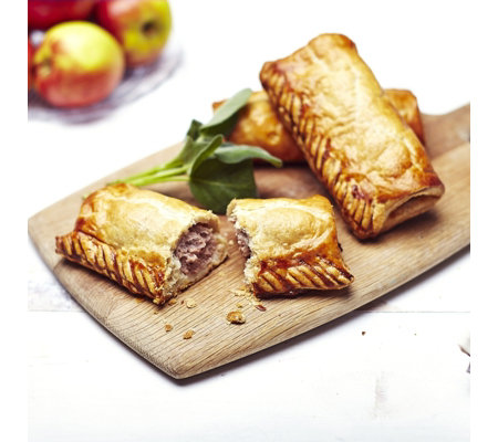 The Real Pie Company 9 Piece Assorted Sausage Roll Selection