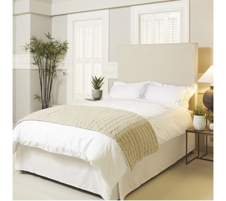 K By Kelly Hoppen Pintuck Quilted Bed Runner Qvc Uk