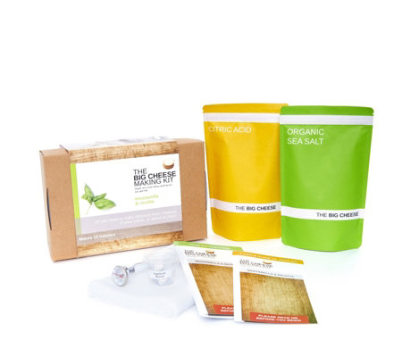 The Big Cheese Making Company Mozzarella & Ricotta Cheese Making Kit