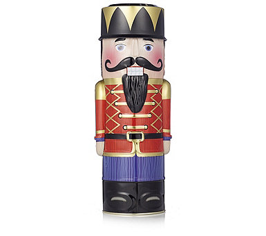 Lambertz 650g Nutcracker Tin Filled with German Gingerbread - 806862