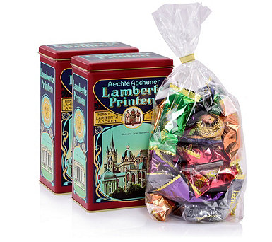 Lambertz 560g 2 Hoflieferant Tins Fillled with German Gingerbread - 806863