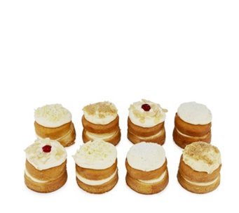 Tweeners by Flower & White 8 Piece Mini Layer Cake Selection - 806065